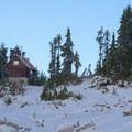 Mount Steele cabin.- Mount Steele Hike