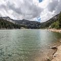 Beautiful Twin Lakes.- Twin Lakes Hike