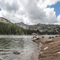 Don't stop at the main beach, explore the trails around the lake.- Twin Lakes Hike