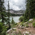 The view from Twin Lakes.- Twin Lakes Hike