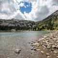 Twin Lakes.- Twin Lakes Hike