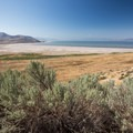 View of the Great Salt Lake from Buffalo Point.- Buffalo Point