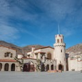 Front of Scotty's Castle.- Scotty's Castle