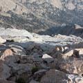 Right below the First Tower.- Lone Pine Peak Climb