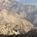 Looking toward the Owens Valley.- Lone Pine Peak Climb