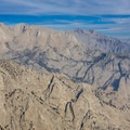 Looking north from the Lone Pine Ridge.- Lone Pine Peak Climb