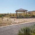 Typical site at Bridger Bay Campground.- Bridger Bay Campground