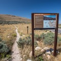 Bridger Bay Campground is the access point for the Lakeside Trail.- Bridger Bay Campground