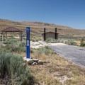 ADA-accessible site at Bridger Bay Campground.- Bridger Bay Campground