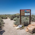 Lady Finger Point Trailhead.- Lady Finger Campground