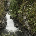 Upper portion and pools of middle Twin Falls.- Twin Falls Hike via West Trailhead