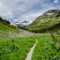 The top of Browns Pass.- Pacific Northwest National Scenic Trail Section 1