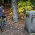 Stonebridge has the fanciest trail signs in town. - Westside Mountain Bike Trails: Pura Vida + Danimal