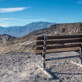 Viewing bench.- Scotty's Grave + Tie Canyon Trail Hike