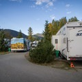 RVs in the A loop.- Riverside Resort Campground