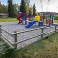 Playground at Riverside Resort Campground.- Riverside Resort Campground