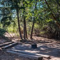 The amphitheater at Castle Rock Campground.- Castle Rock Campground