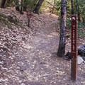 The Ridge Trail leaves from the campground.- Castle Rock Campground
