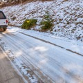 Even if the road is open, snow can linger into spring and arrive early in the fall. Use caution.- Hell's Backbone Scenic Drive