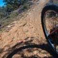 Mack Ridge in the Kokopelli Loops.- Kokopelli Loops Mountain Bike Trails: Mack Ridge