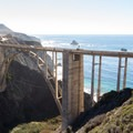 The bridge can be walked across, although it is dangerous.- Bixby Bridge