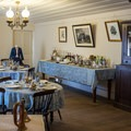 Dinner hall in the hotel.- San Juan Bautista Historic State Park