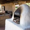 Hotel kitchen.- San Juan Bautista Historic State Park