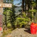 Whiffle golf course!- Whistler RV Park + Campground