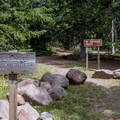 The southernmonst trailhead, at Big Flat.- Tushar Skyline Trail Hike