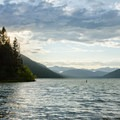 from the southern shores of Upper Priest Lake.- Pacific Northwest National Scenic Trail Section 5