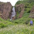 Phoenix Falls.- Phoenix Falls Hike