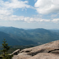 Looking over the summit of Giant Mountain.- Giant Mountain