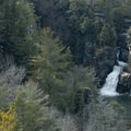 Linville Falls from the overlook.- Linville Falls Hike