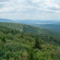 A view to the south from the fire tower.- Mount Arab Hike