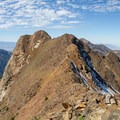 Looking toward Monte Cristo and an unnamed 11,000-foot peak.  - Mount Superior + Monte Cristo Hike