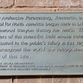 Snow science plaque.  - Mount Superior + Monte Cristo Hike
