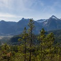 Tantalus Range from the Tantalus Viewpoint.- Brohm Lake Interpretive Forest Hike