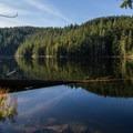 Brohm Lake.- Brohm Lake Interpretive Forest Hike