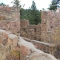 Walker Home ruins.- Castle Trail Hike