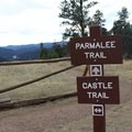 The Castle Trailhead.- Castle Trail Hike