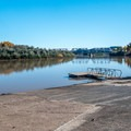 A large boat ramp is located just outside the campground.- Green River State Park Campground