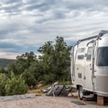 The views from the outer sites are lovely.- Horsethief Campground
