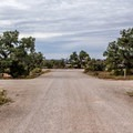 The roads are decently wide, and many of the spaces are large.- Horsethief Campground