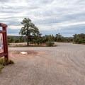 Campground entrance.- Horsethief Campground