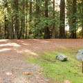 There are several double sites.- Porpoise Bay Provincial Park Campground