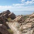 Several trails traverse Antelope Island.- Antelope Island State Park