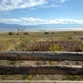 View of the Great Salt Lake from Antelope Island.- Antelope Island State Park