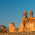 "The ""greeters"" of Goblin Valley.- Goblin Valley Campground"