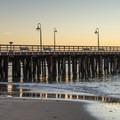 The Santa Cruz Wharf from Cowell Beach.- Cowell Beach