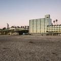 Development abuts Cowell Beach.- Cowell Beach